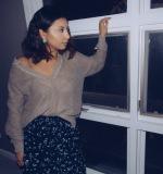 Black maxi skirt Village Discount Thrift Stores